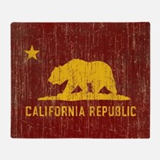 VintageCalifornia Throw Blanket