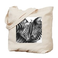 Zebras Stadium Blanket Tote Bag