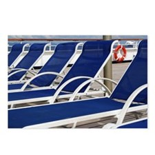 Deck Chairs Postcards (Package of 8)
