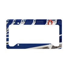 Deck Chairs License Plate Holder