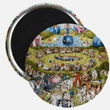 The Garden of Earthly Delights Magnet