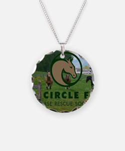 Circle F logo and herd Necklace