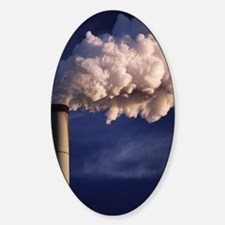 Industrial air pollution Decal