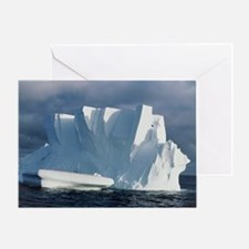 Iceberg floating in the Ross Sea, An Greeting Card
