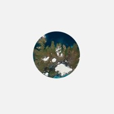 Iceland, satellite image Mini Button