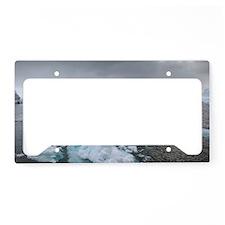 Icebergs License Plate Holder