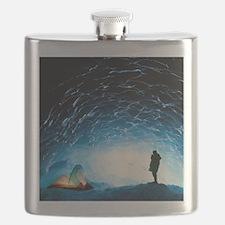 Ice cave interior Flask