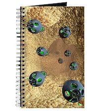 Nanobots and atherosclerosis, artwork Journal