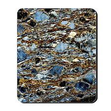 Mylonite mineral, light micrograph Mousepad