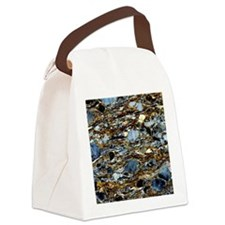 Mylonite mineral, light micrograp Canvas Lunch Bag