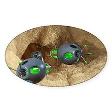 Nanobots and atherosclerosis, artwo Decal