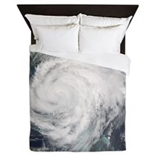 Hurricane Frances Queen Duvet