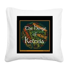 The Henge of Keltria Website  Square Canvas Pillow