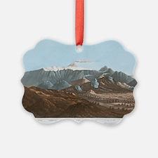 Mount Etna, 19th century Ornament