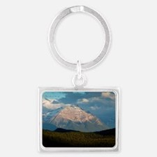 Mount Edith Cavell, Canada Landscape Keychain