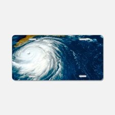 Hurricane Floyd Aluminum License Plate