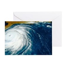 Hurricane Floyd Greeting Card