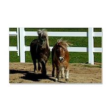 Cute Miniature Horses Car Magnet 20 x 12