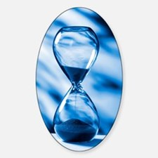 Hourglass, conceptual image Decal