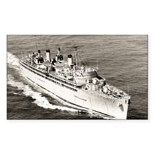 uss hector framed panel print Decal