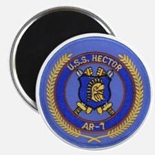 uss hector patch transparent Magnet