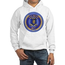 uss hector patch transparent Hoodie