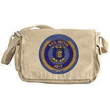 uss hector patch transparent Messenger Bag