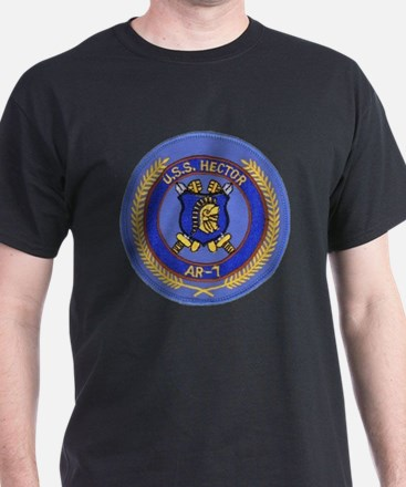 uss hector patch transparent T-Shirt
