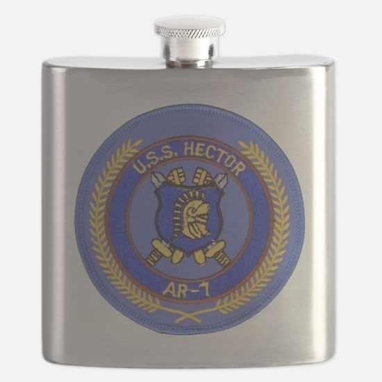 uss hector patch transparent Flask