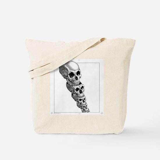 Human evolution, artwork Tote Bag