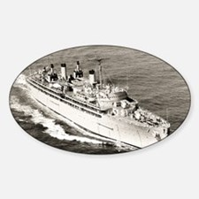 uss hector large framed print Decal