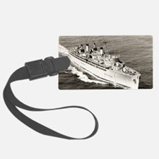 uss hector large framed print Luggage Tag