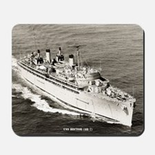 uss hector large framed print Mousepad