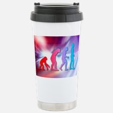 Human evolution Travel Mug