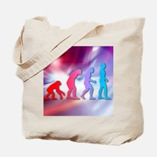 Human evolution Tote Bag