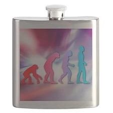 Human evolution Flask