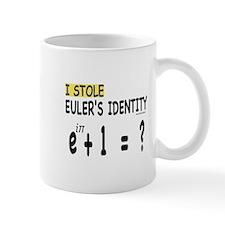 I stole Eulers Identity Mugs
