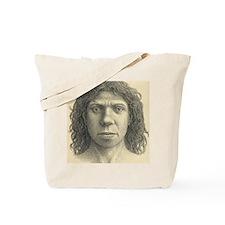 Homo heidelbergensis female Tote Bag
