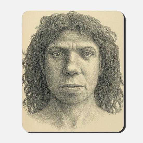 Homo heidelbergensis female Mousepad