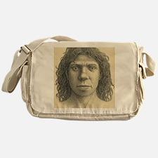 Homo heidelbergensis female Messenger Bag