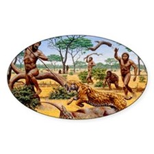 Homo ergaster hunting group Decal