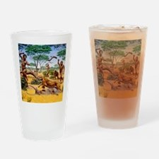 Homo ergaster hunting group Drinking Glass