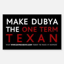 One term Texan (Black)