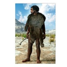 Homo erectus, artwork Postcards (Package of 8)
