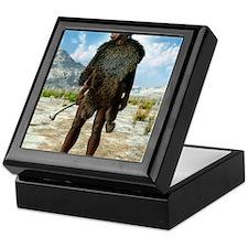 Homo erectus, artwork Keepsake Box