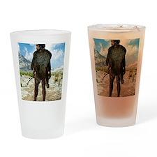 Homo erectus, artwork Drinking Glass