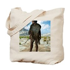 Homo erectus, artwork Tote Bag