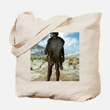 Homo erectus, artwork Tote Bag
