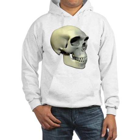 Homo erectus skull Hooded Sweatshirt