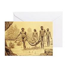 Homo antecessor Greeting Card